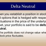 Delta Neutral Trading