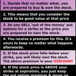 Using Options to Buy Stocks
